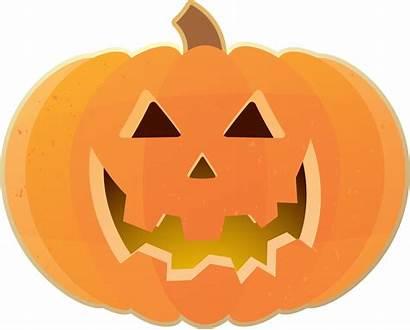 Pumpkin Clip Clipart Halloween Happy Carving Face