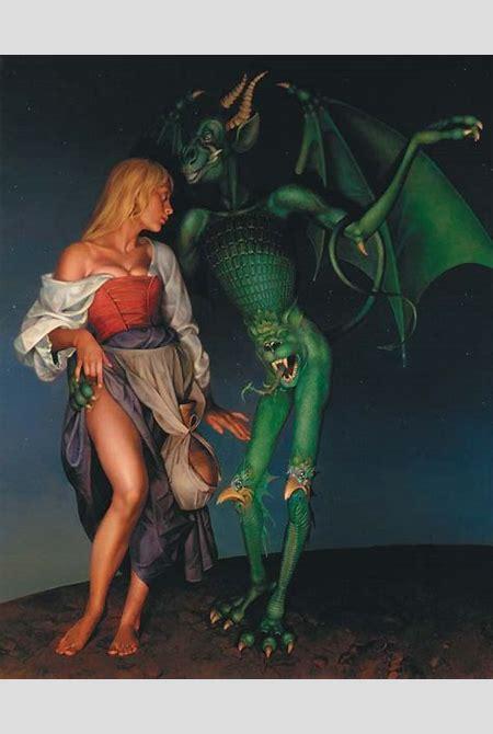 Bessonov Nicolay. Temptation. Canvas. 1992.