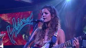 Watch Hinds Make Their American TV Debut On Colbert ...