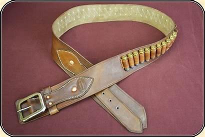 Belt Cartridge 44 Fancy Caliber 45 Leather