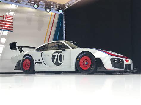 porsche  customer race car celebrates  moby dick