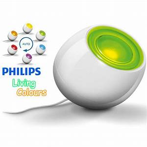 PHILIPS 69150/31PU WHITE LIVING COLOUR CHANGING LED ...