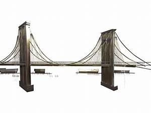 C Jer Brooklyn Bridge Sculpture Chairish
