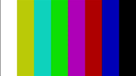 HD TV colour bars test — full HD 1920X1080 - YouTube