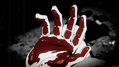 Blood Anime Hand Heart Hearts