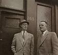 Johannes Kleiman en Victor Kugler.   Anne Frank ...