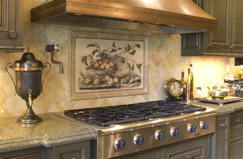 beautiful backsplash murals your kitchen look