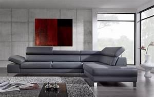 quel canape en cuir choisir pour un loft blog de seanroyale With tapis de gym avec canapé cuir design italien