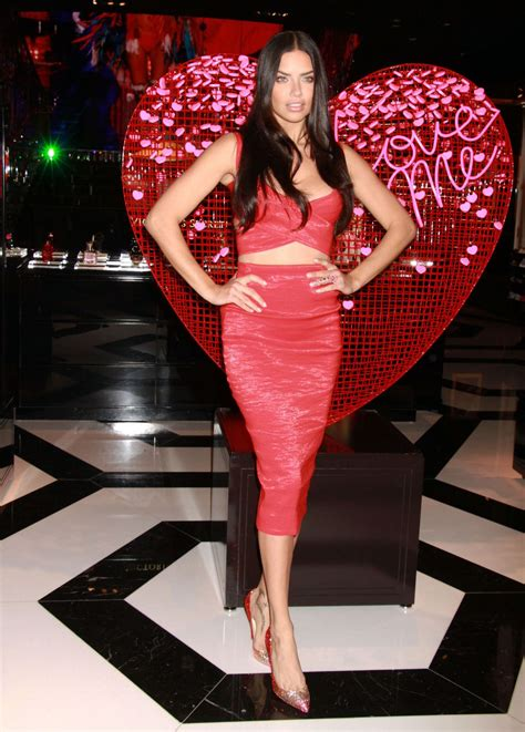 ADRIANA LIMA at Victoria's Secret in Las Vegas – HawtCelebs