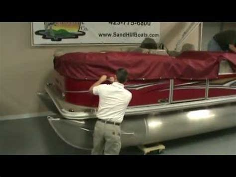 Sunchaser Pontoon Boat Mooring Covers how to install the mooring cover on a pontoon boat