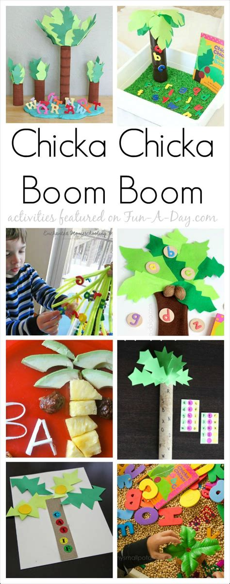 15 best chicka chicka boom boom theme images on 484 | 02c358593c722c6dccd2a4b3292e2c03 teaching activities language activities