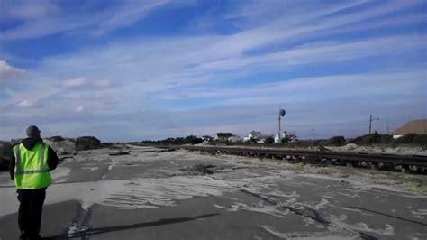 gilgo beach long island  hurricane sandy youtube