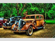Vehicles cars retro auto classic hdr chrome color lights