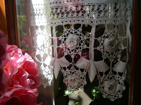 shabby chic curtains ireland 113 best images about idee crochet per la casa on pinterest lace shabby and hand crochet