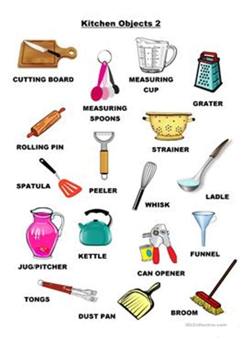 knives kitchen 22 free esl kitchen utensils worksheets