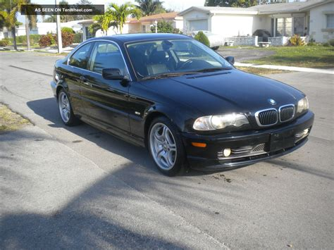 2002 Bmw 330ci Coupe Auto 2 Door 3 0l Black On Black