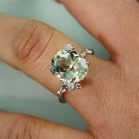 Green Amethyst And Diamond Ring  Wedding, Promise. Super Cool Engagement Rings. Halftone Rings. Opaque Engagement Rings. Goes First Engagement Rings. Stunning Diamond Wedding Rings. Artificial Engagement Rings. Halo Wedding Rings. Swiss Engagement Rings