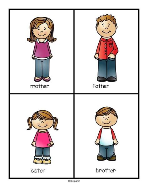 223 Best Family Images On Pinterest  Worksheets, Studentcentered Resources And English Activities