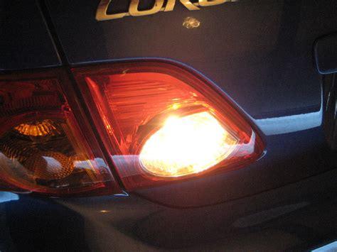 2010 toyota corolla tail light cover brake light bulb for 2009 toyota corolla s