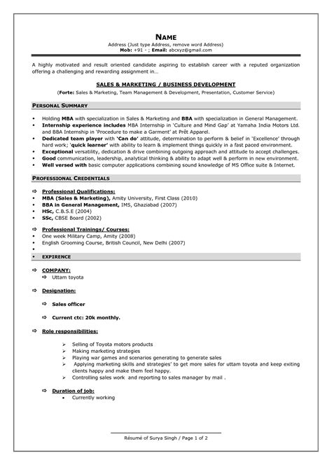 Most Recent Resume Format 2016 current resume formats world of reference