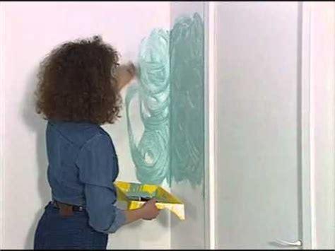 technique de peinture murale la peinture 224 l 233 ponge