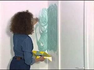 Eponge Pour Peindre : la peinture l 39 ponge youtube ~ Preciouscoupons.com Idées de Décoration