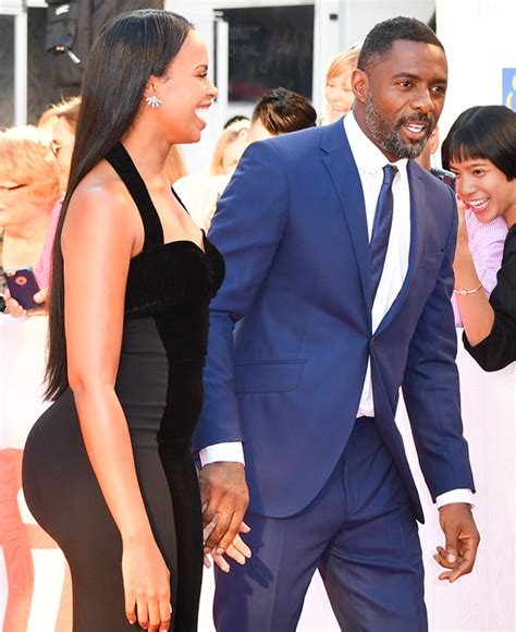 Idris Elba's Fiance Is VERY WELL ENDOWED . . . And We're ...