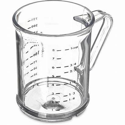 Measuring Cup Clear Oz Carlisle Cups Polycarbonate