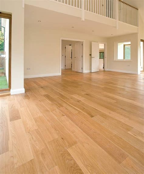190mm wide 20mm thick select oiled oak flooring
