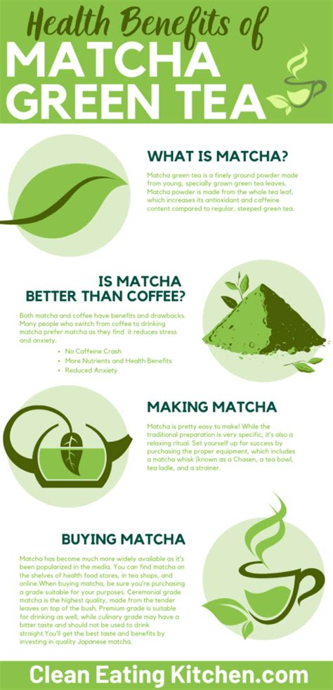 They provide doses of the world's most widely used green tea is made from the leaves and buds of a plant called camellia sinensis. Health Benefits of Matcha Green Tea - Clean Eating Kitchen