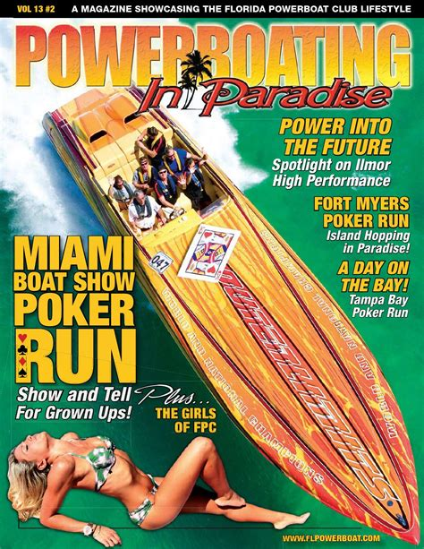 Miami Boat Show Office by Powerboating In Paradise Vol 13 2 By Stu Jones Issuu