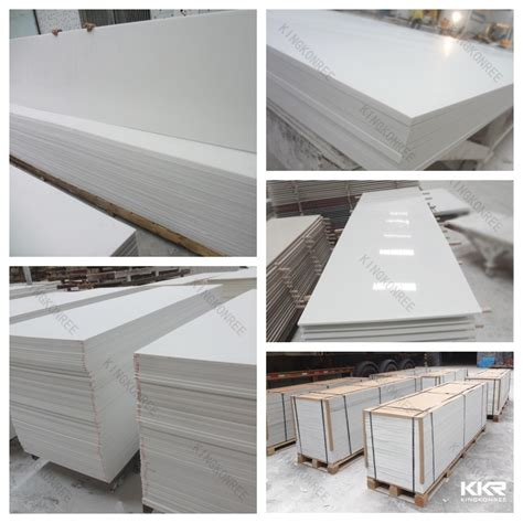 6mm thick artificial marble slab white wall tile buy