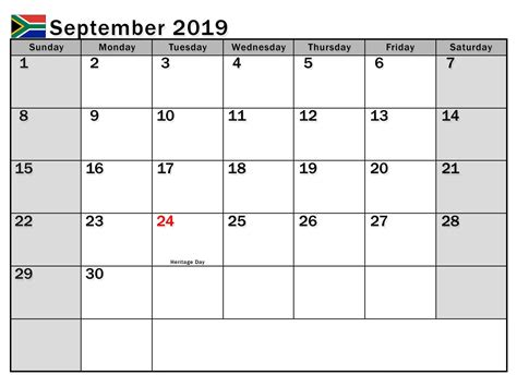 september  calendar  holidays magic calendar