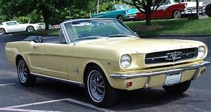 Phoenician Yellow 1964 Ford Mustang Convertible