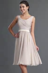 robe de mariã e courte robe courte genoux couleur tourterelle pour cocktail de mariage persun fr