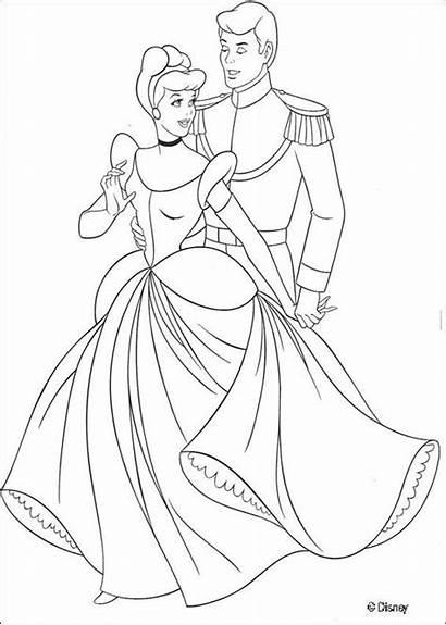 Cinderella Dancing Legs Coloring Prince Pages Lovato