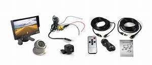 Caravan Two Camera 4pin System 7 U0026quot  Monitor Hd 12v  24v