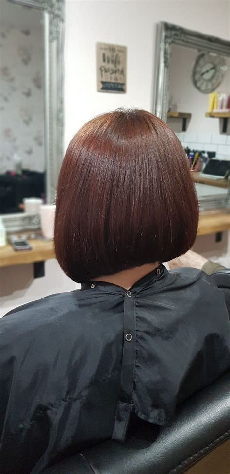 Concaved Bob Concave bob Hair color Inverted bob