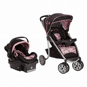 System Stroller Car Seat with Base Baby Girl Gear Nice New ...
