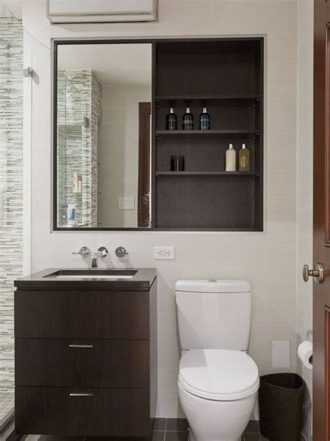 Bathroom Cabinets Ideas Designs by 40 Stylish And Functional Small Bathroom Design Ideas