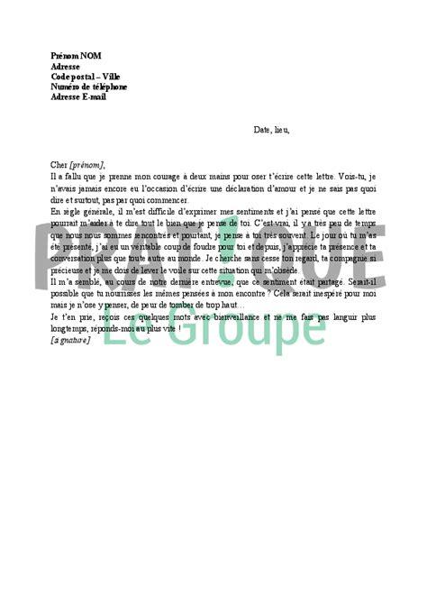 agrandir sa cuisine lettre déclaration d 39 amour modèle 1 pratique fr
