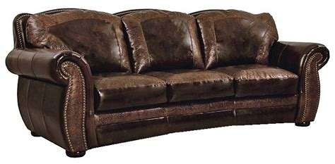 Rustic Leather Loveseat by Bradley S Furniture Etc Artistic Leather Premium Rustic