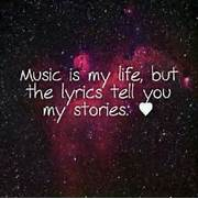 Wallpaper Music Is My Life   Quote Addicts  Music Is Life Quotes