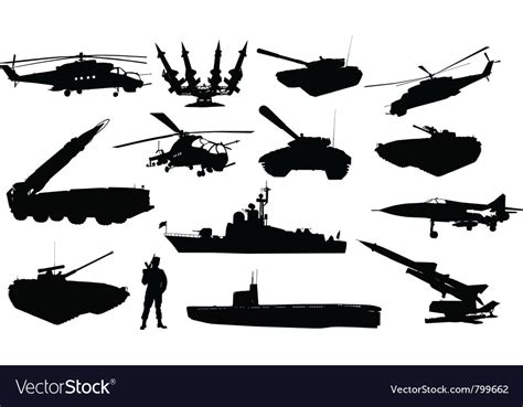 Find more free military svg files here at our site as well. Military silhouettes Royalty Free Vector Image