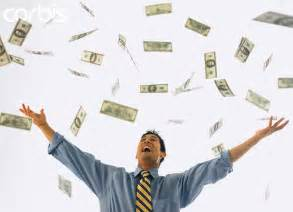 Image result for three men throw money in the air