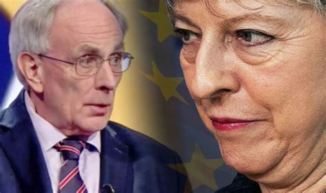 brexit news theresa may to resign if article 50 eu exit is delayed claim on newsnight uk