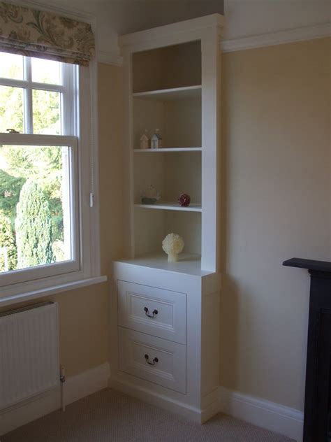 fitted alcove storage gallery thorne woodworking