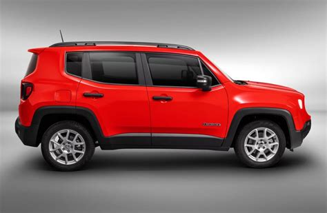 jeep renegade  rojo lateral mega autos