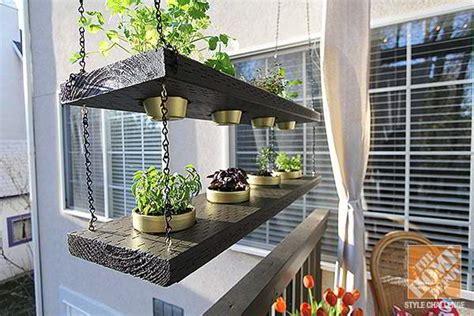 desain taman gantung teras minimalis eksterior rumah