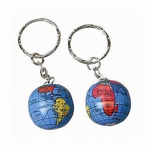 Mini Globe Terrestre : ens de 12 porte cl s globes terrestres scolart ~ Teatrodelosmanantiales.com Idées de Décoration